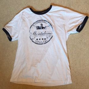 VINTAGE T-shirt from Montalcino, Italy!